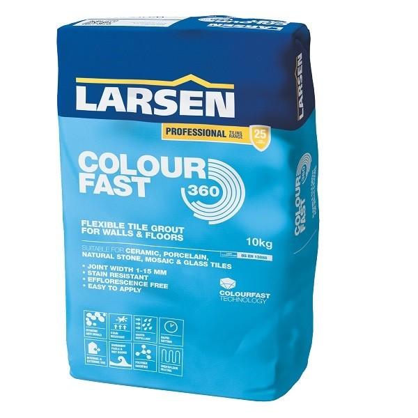 Larsen Professional Flexible Grout Colour Fast