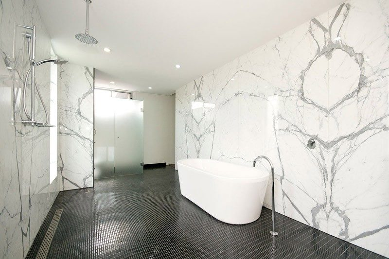 Statuario Venato Marble Bathroom