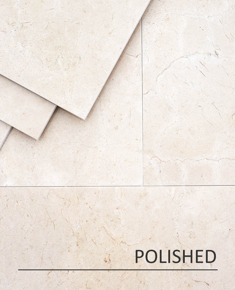Crema Marfil Polsihed Marble
